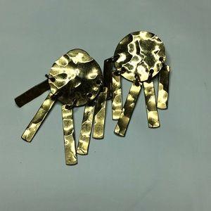 Jewelry - Gold Danglingly Earrings